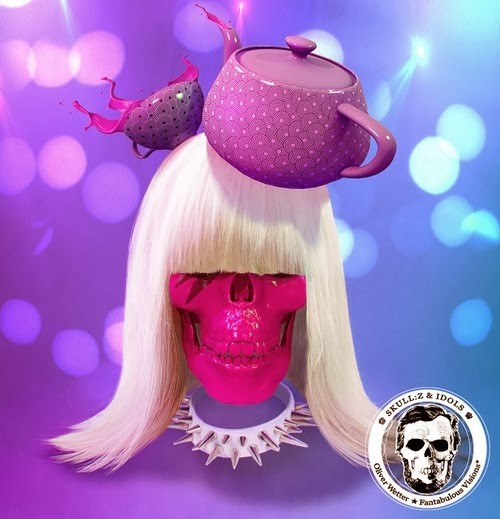 06-Lady-Gaga-Oliver-Wetter-aka-fantasio-Skullified-Personalities-www-designstack-co