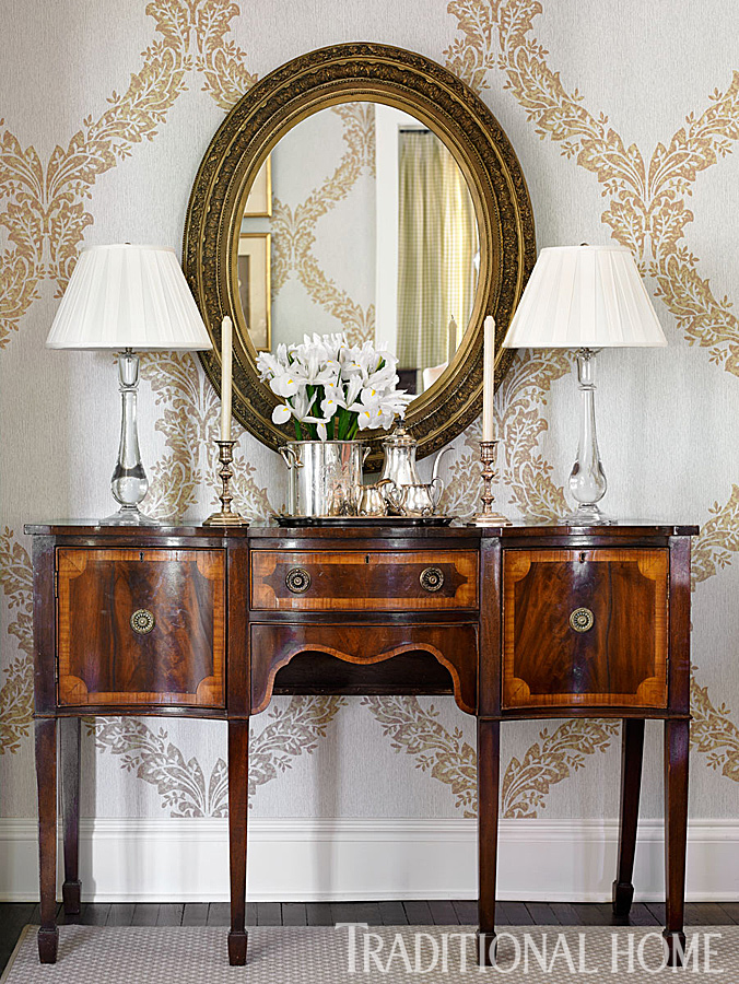 April 2014 michaela noelle designs for Traditional dining room sideboard
