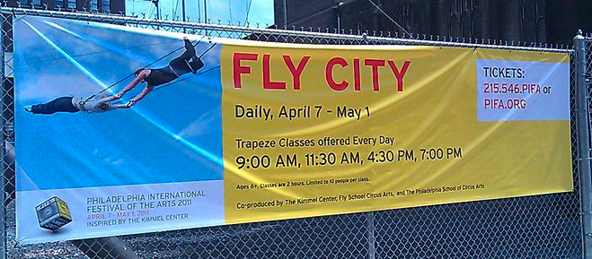 PIFA Event: Fly City – Flying Trapeze Lessons | Frugal Philly Mom ...