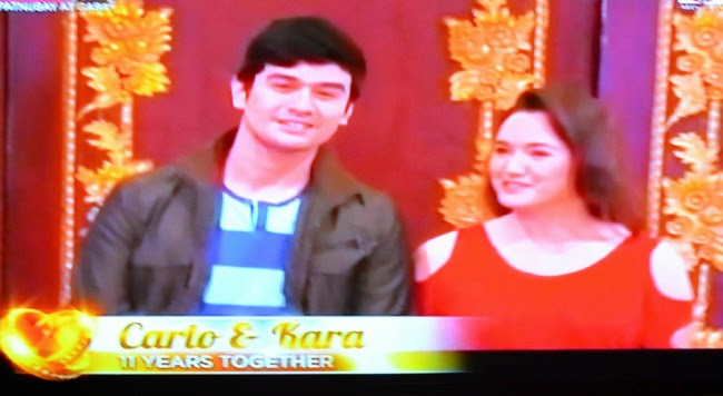 couple Carlo and Kara on Realiserye 'I Do' of ABS-CBN