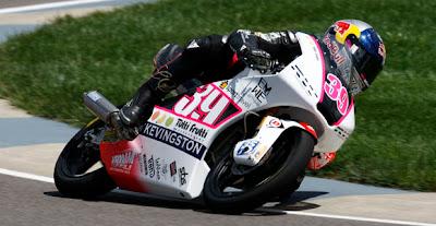 Hasil Balap Moto3 Indianapolis 2012 Luis Salom Juara