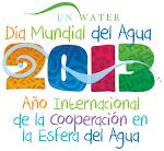 2013 Año Internacional de la Cooperación en la Esfera del Agua