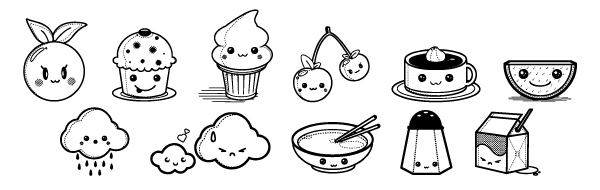 1000 images about kawaii coloring pages on Pinterest