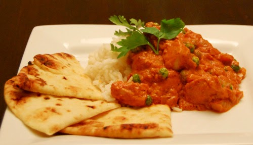 Butter Chicken w/ Basmati Rice & Naan Bread | Chef Derek Paterson