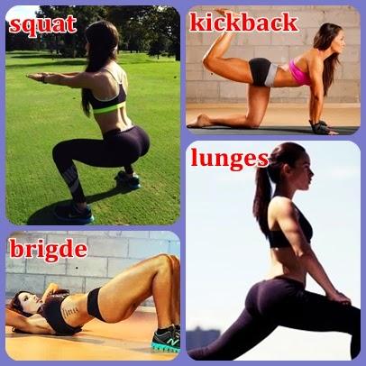 olahraga mengatasi bokong tepos