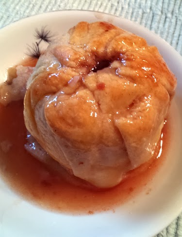 Judy's amazing apple dumplings