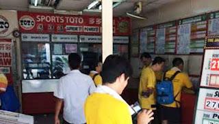 Kedai nombor ekor antara tumpuan peserta Bersih