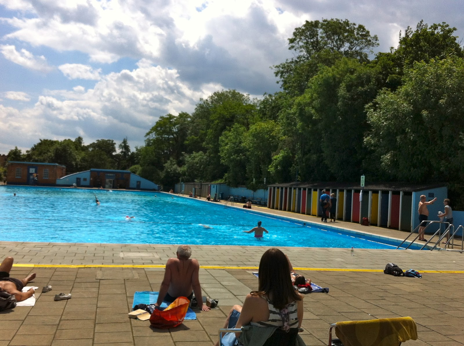 Tooting Bec Lido London Swan Song