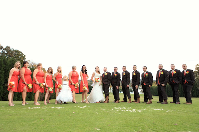 photos of the fun bridal party at a Bermuda Run Counrty Club Wedding in Bermuda Run North Carolina