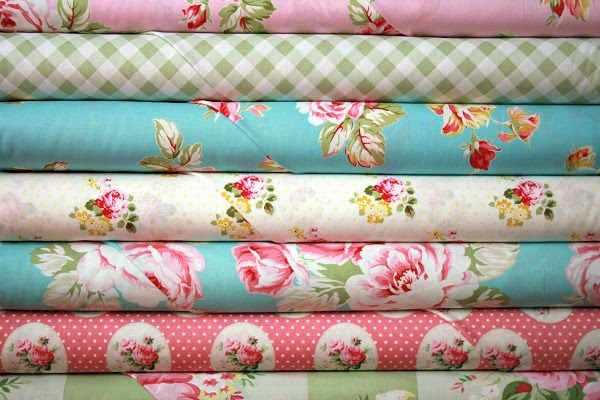 Sunshine Roses Fabric