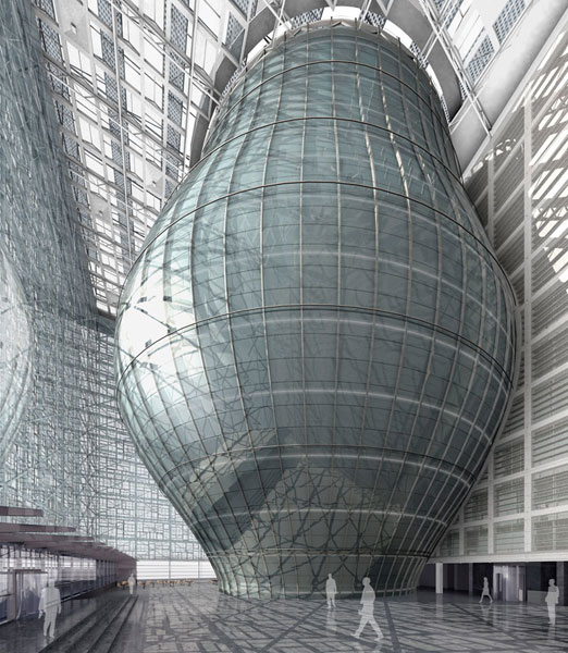 N n o n the new european council building in brussels for Architects council of europe