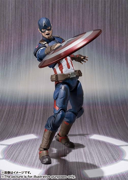 figure captain america avengers