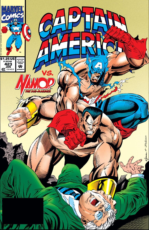 Captain America (1968) Issue #423 #373 - English 1