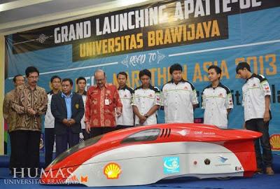 Mobil Listrik Uiversitas Brawijaya Targetkan Juara di Shell Eco-Marathon