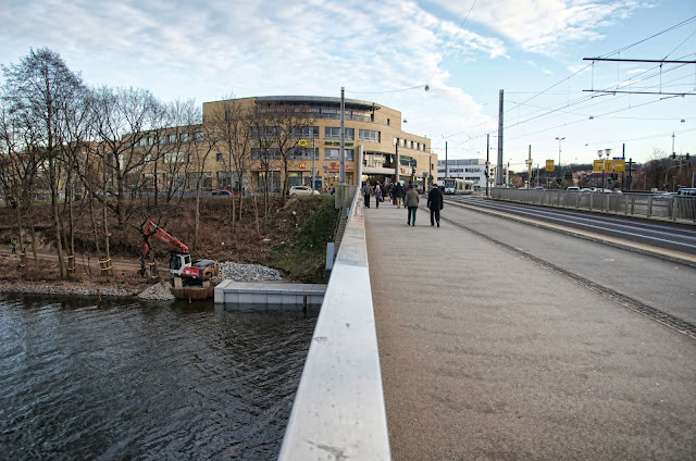 Baustelle Potsdam, Lange Brücke / Babelsberger Straße, 14473 Potsdam, 11.01.2014