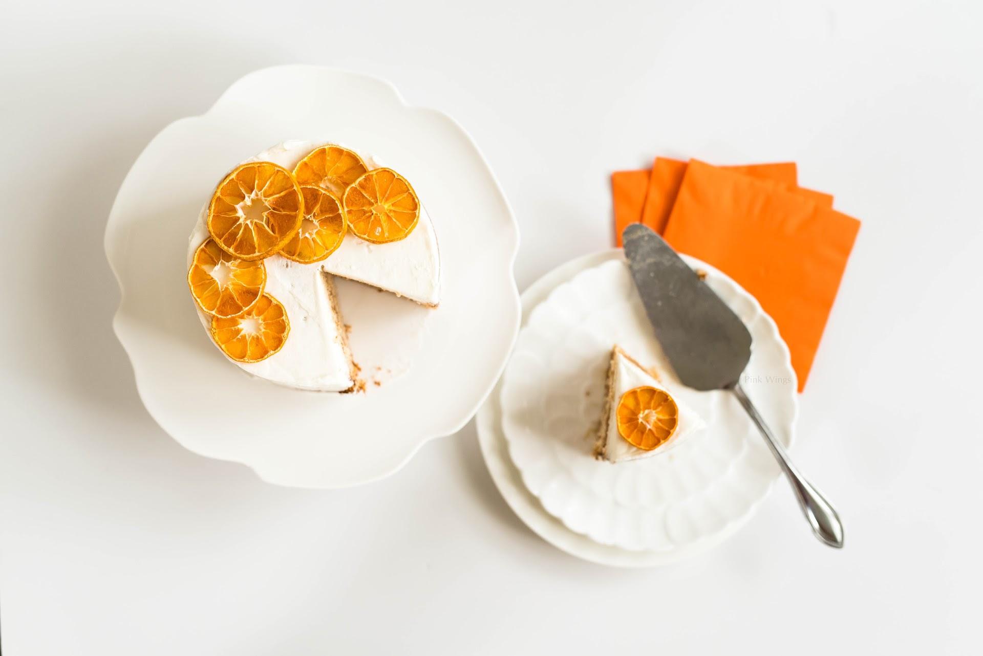 blood orange dessert, orange cake, summer cake, holiday cake, winter fall autumn cake, fruit in season, candied oranges, mini layered cake, 6 inch cake, san francisco food blogger, bay area, california, lds mormon, small cake for couples, baking for husband boyfriend hubby, spouse, holiday dessert, christmas dessert, asian korean japanese baker blogger