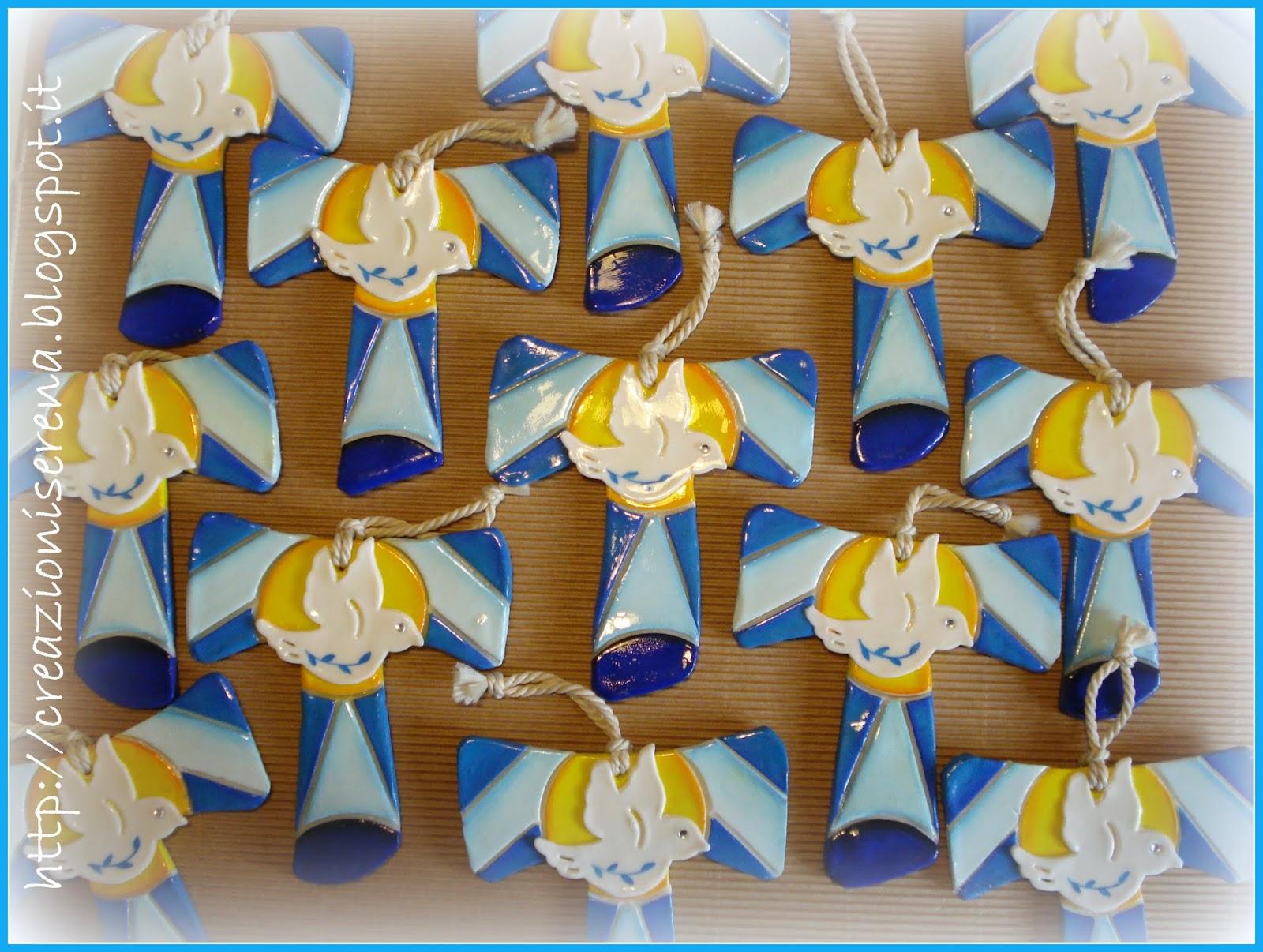 Favorito Creazioni Serena: Croci in pasta di mais - bomboniere Cresima MV41