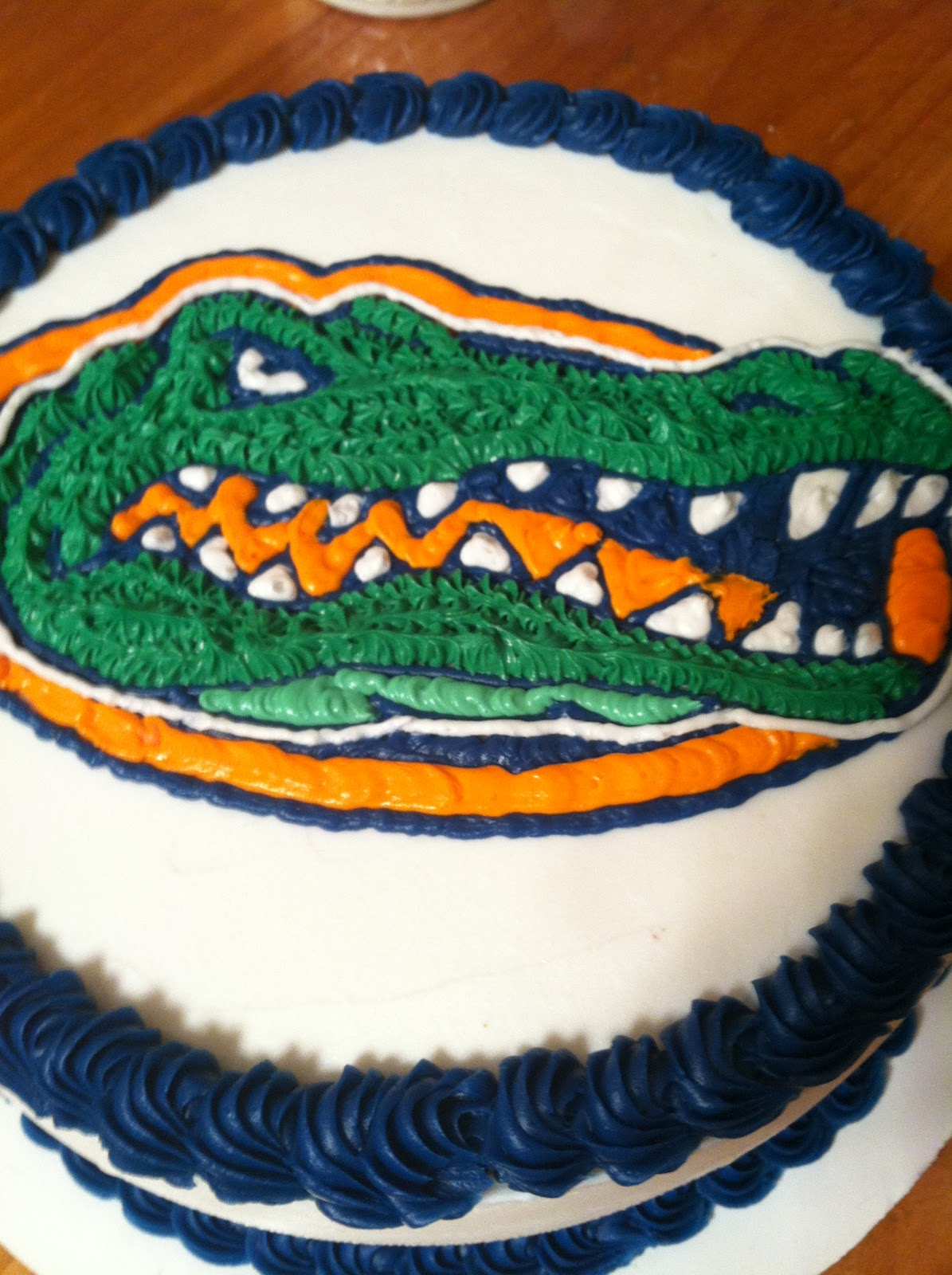 Introducing A Bday Cake For The Florida Gators Biggest Fan