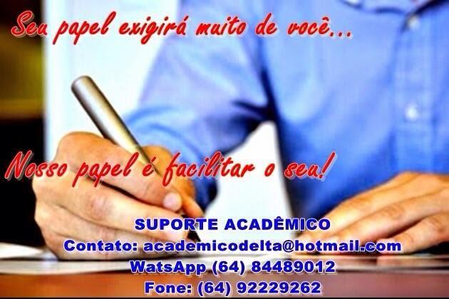 Suporte academico