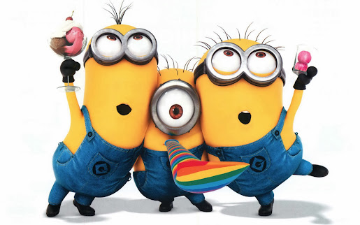 Happy new year minions despicable me hd wallpaper image