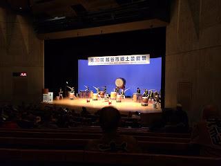 第30回越谷市郷土芸能祭