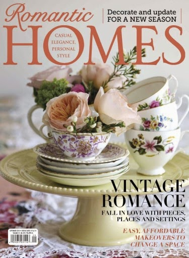 FEATURED IN ROMANTIC HOMES