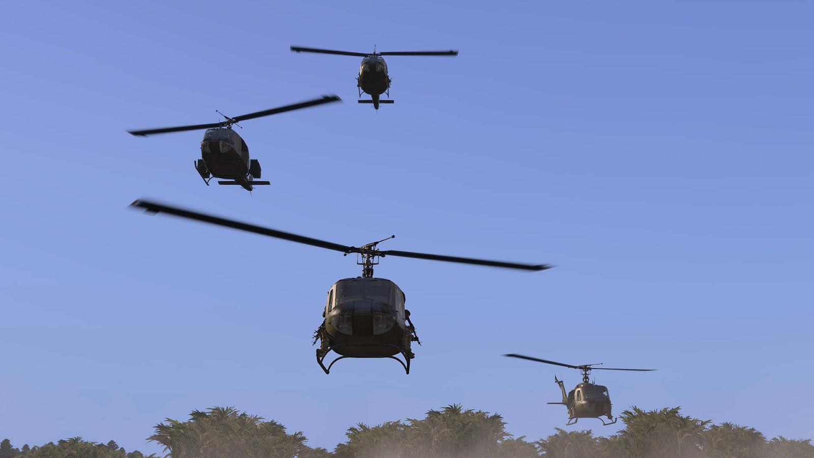 Arma 3 Elicottero : Arma へ bell を取り込みした medium utility helicopters mod で