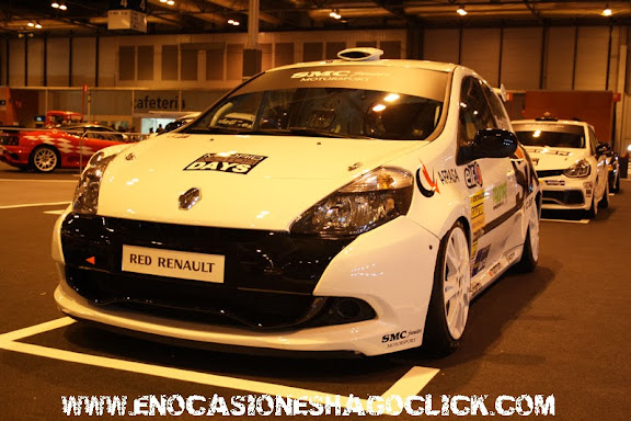 Renault CLio Sport en Madrid Motor Days