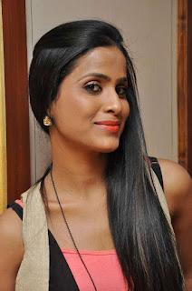 Prashanthi at affair press meet 011.jpg
