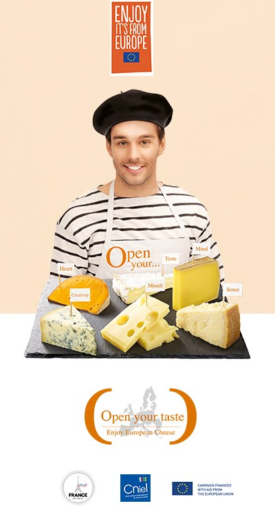 Savour European Cheeses!