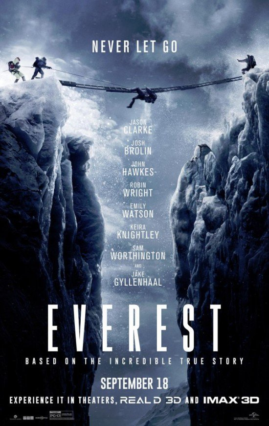 Everest (2015) เอเวอเรสต์ ไต่ฟ้าท้านรก