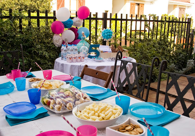 Diariodeco14: Candy bar Frozen por el cumple de la princesa3