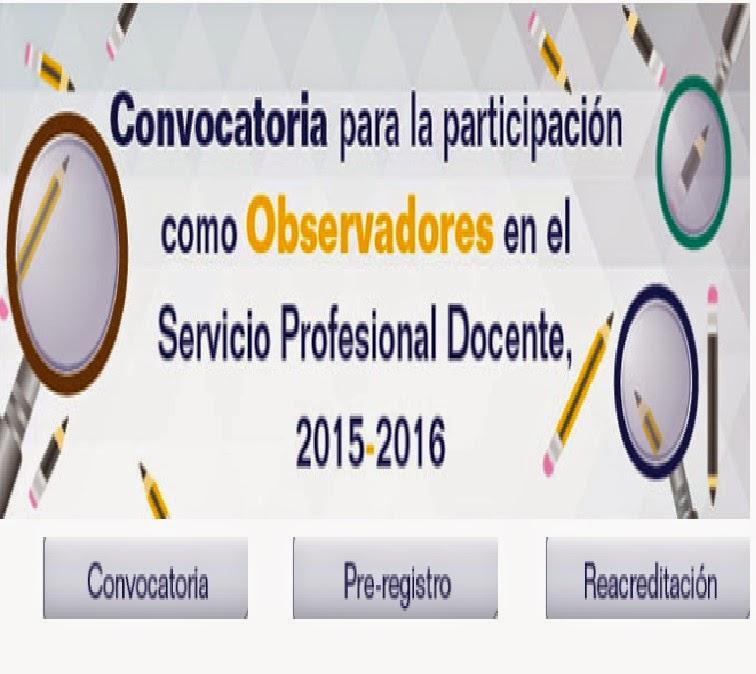 Docentesdf convocatoria para la participaci n de for Convocatoria para docentes 2016