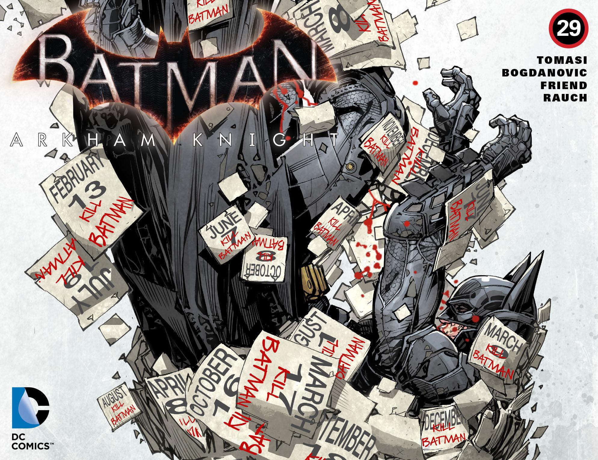 Batman: Arkham Knight [I] Issue #29 #31 - English 1