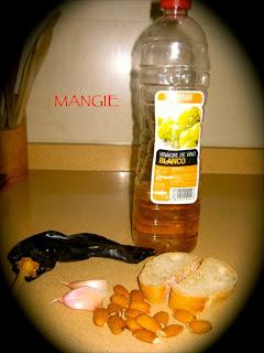 Ingredientes espinacas en salsa
