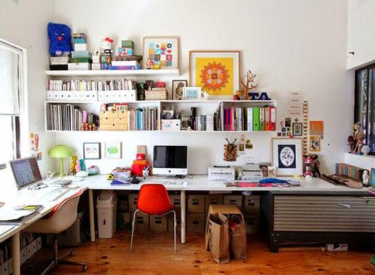 desain rumah tebaru contoh desain ruang kerja minimalis