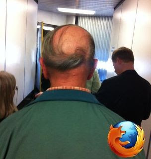 Firefox hairstyle
