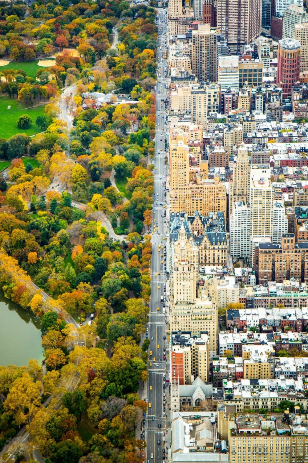 The 100 best photographs ever taken without photoshop - Two worlds divided, New York, USA