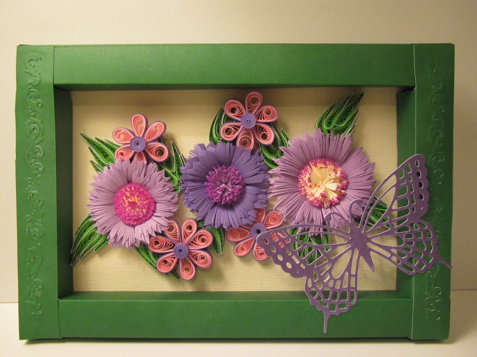 The Template For Frame Was Borrowed From Innas Creations Increationsblogspot 2009 06 How To Make Simple Paper