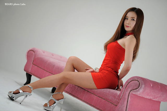 2 Hot Red - Lee Yeon Ah -Very cute asian girl - girlcute4u.blogspot.com