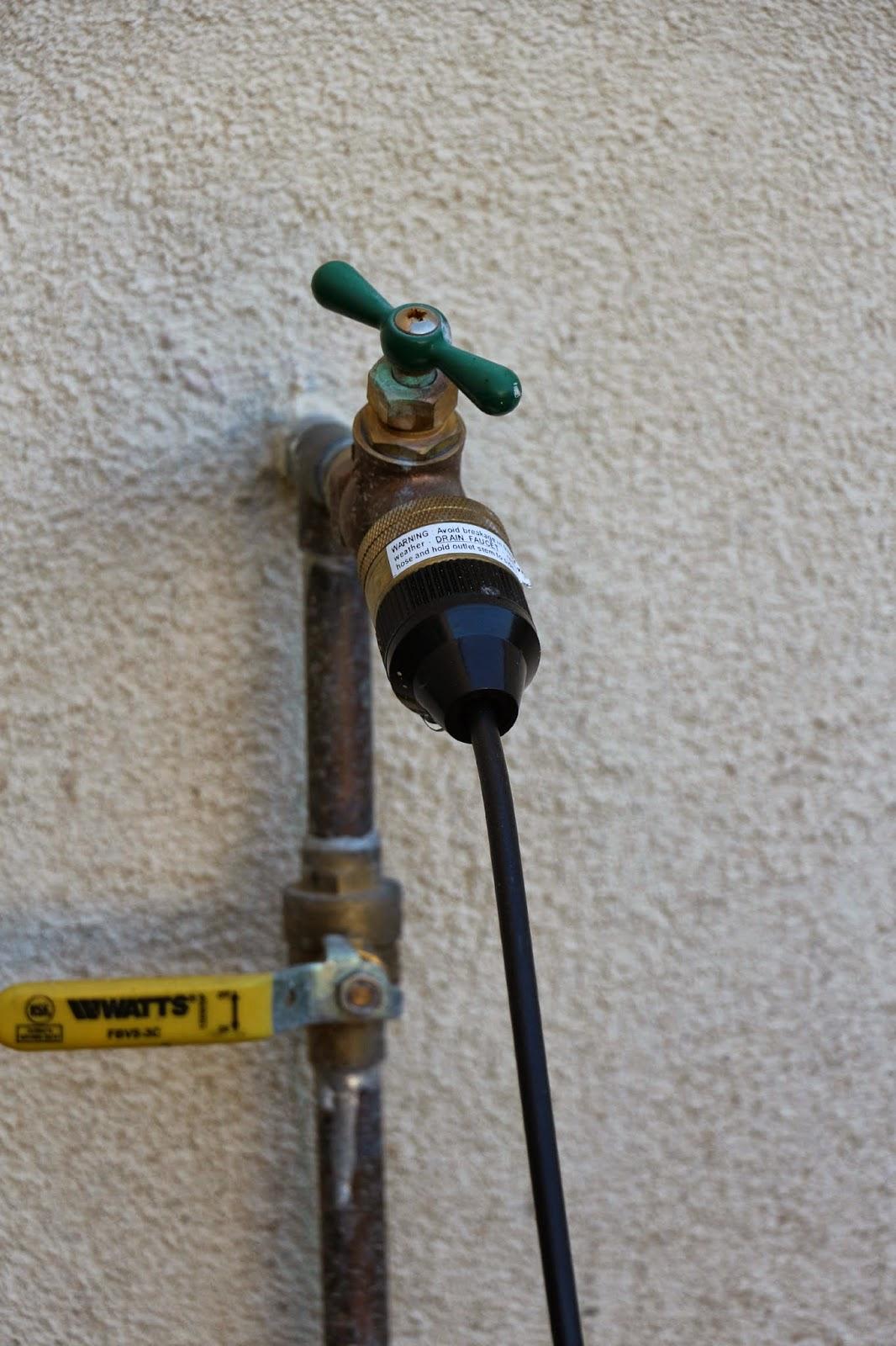 fountain refill valve hook up, fountain hookup, refill valve hookup