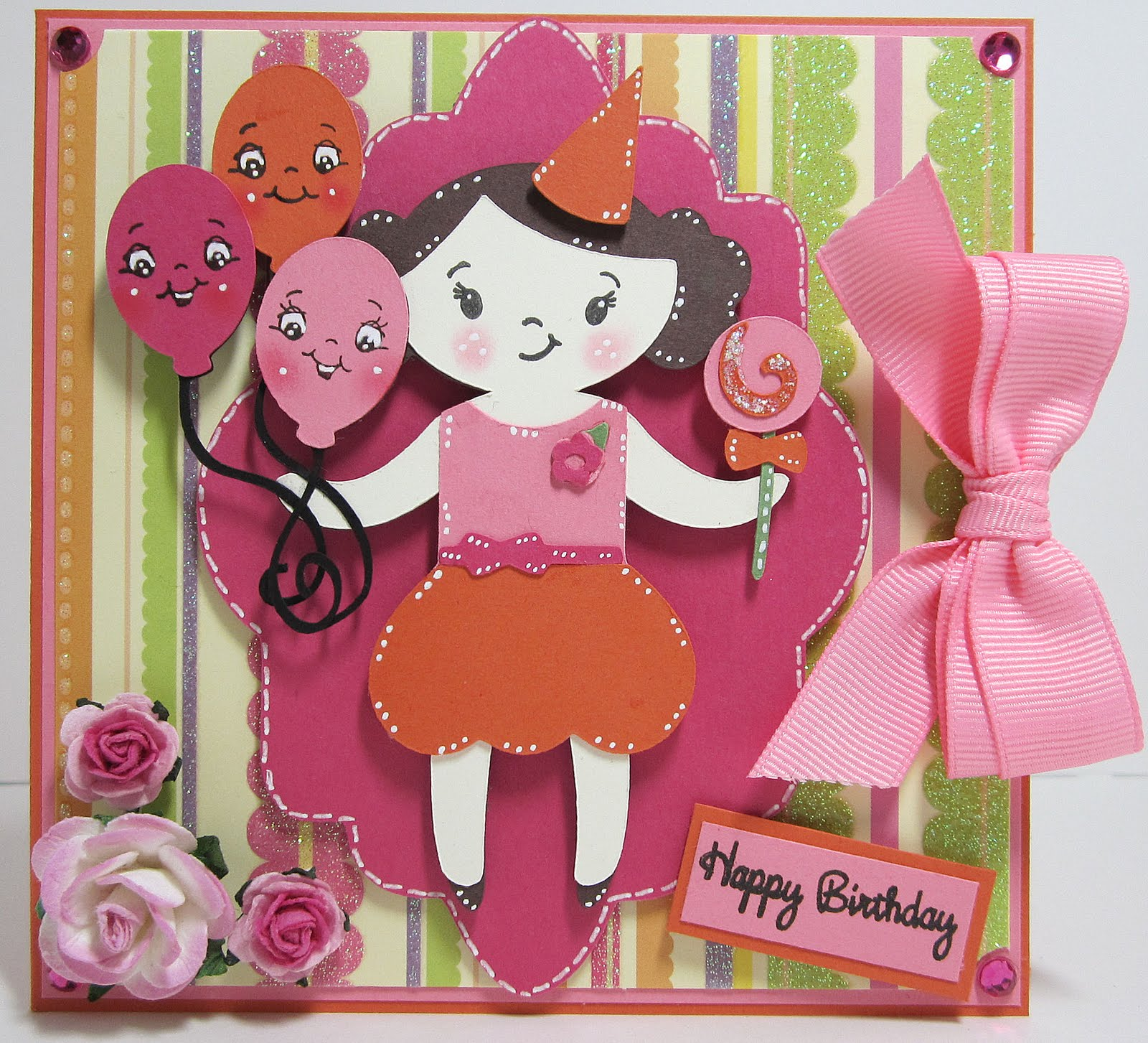 Ever After Papercrafts A Quick Happy Birthday Card