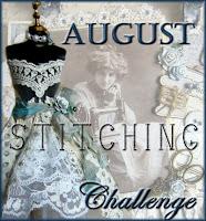 August Challenge -  Stitching