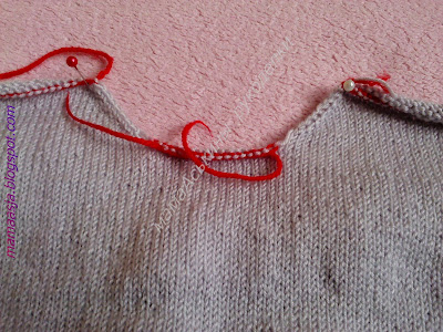 Вязание ластовицы.