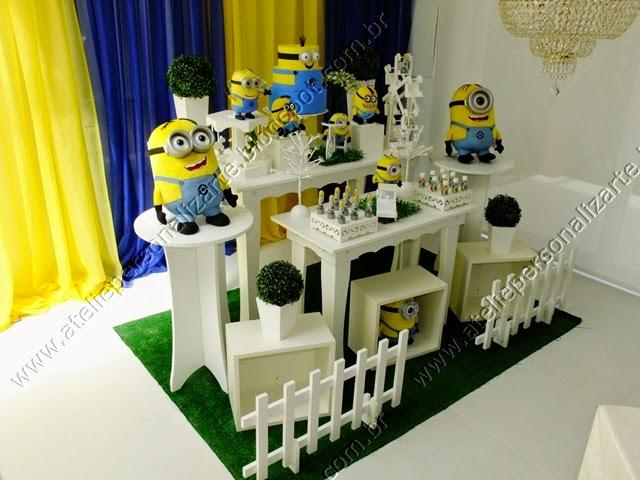 Decoração de festa infantil Minions Porto Alegre