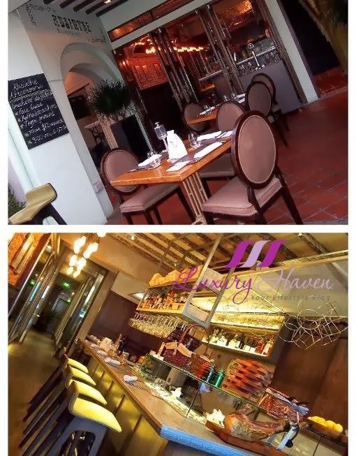 absinthe restaurant francais boat quay singapore
