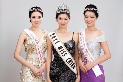 Cô gái 'suốt ngày thi hoa hậu' đăng quang Miss China