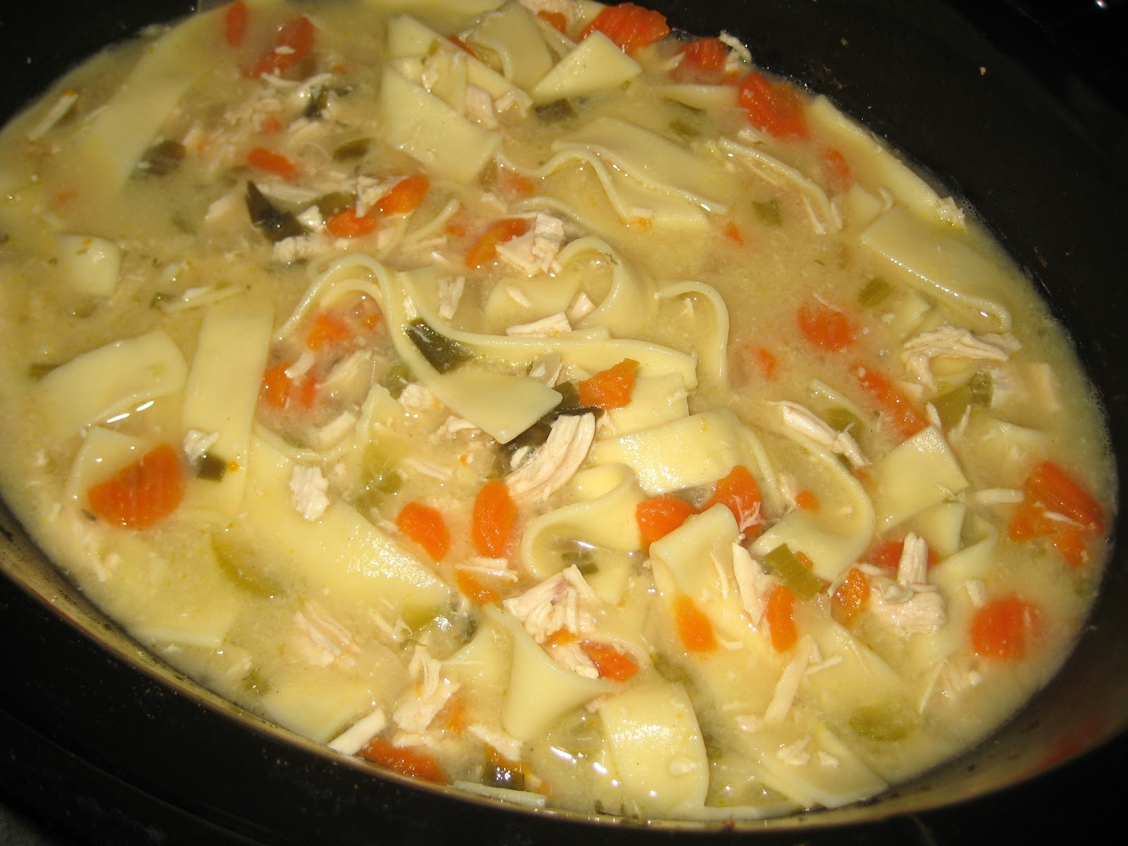julie's crock of the week crock pot chicken noodle soup