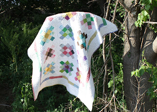Sew Fabulous Quilt Shop Blog: Granny Square Quilt -The Grand Finale!