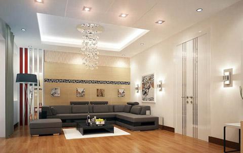 Ứng dụng đèn led âm trần trong chiếu sáng nội thất